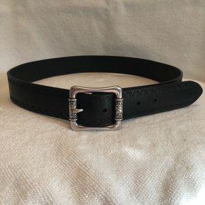 Fossil brand Black Boho Belt